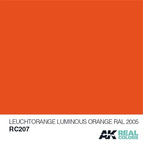 AKRC207 LEUCHTORANGE-LUMINOUS ORANGE RAL 2005 10ML