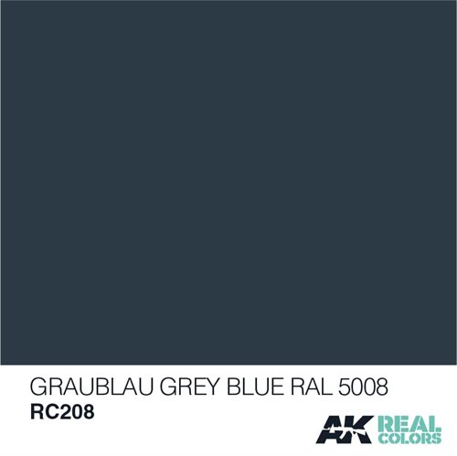 AKRC208 GRAUBLAU-GREY BLUE RAL 5008, 10 ML