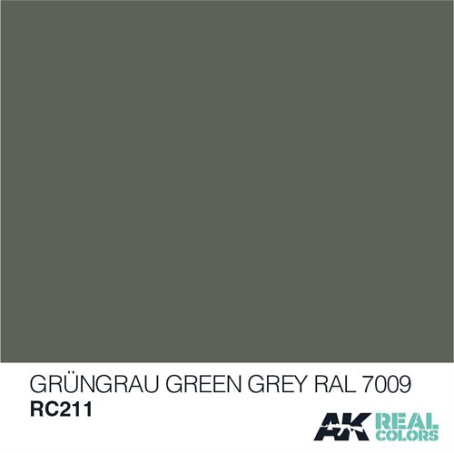 AKRC211 GRÜNGRAU-GREEN GREY RAL 7009 (MODERN) 10ML
