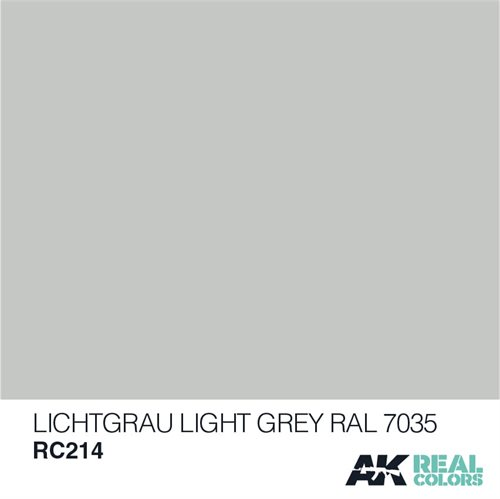 AKRC214 LICHTGRAU-LIGHT GREY RAL 7035 10ML
