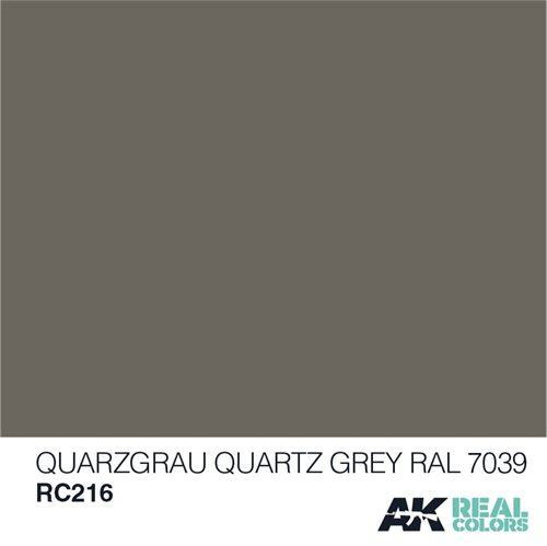 AKRC216 QUARZGRAU-QUARTZ GREY RAL 7039 10ML