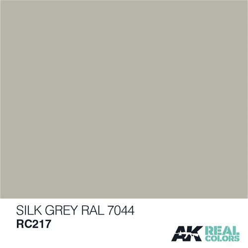AKRC217 SEIDENGRAU-SILK GREY RAL 7044, 10 ML