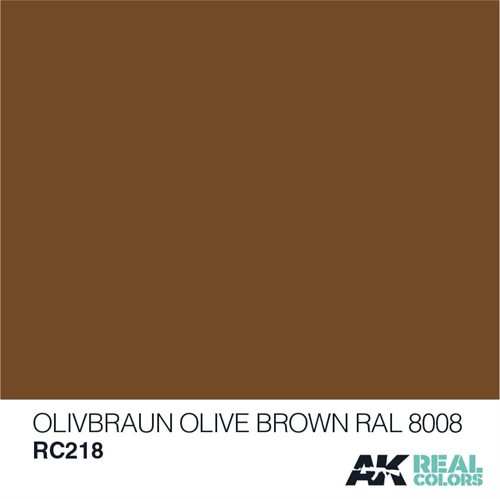 AKRC218 OLIVE BRAUN-OLIVE BROWN RAL 8008 10ML