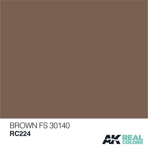 AKRC224 BROWN FS 30140 10ML