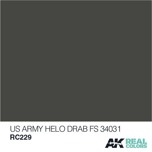 AKRC229 US ARMY HELO DRAB FS 34031 10ML