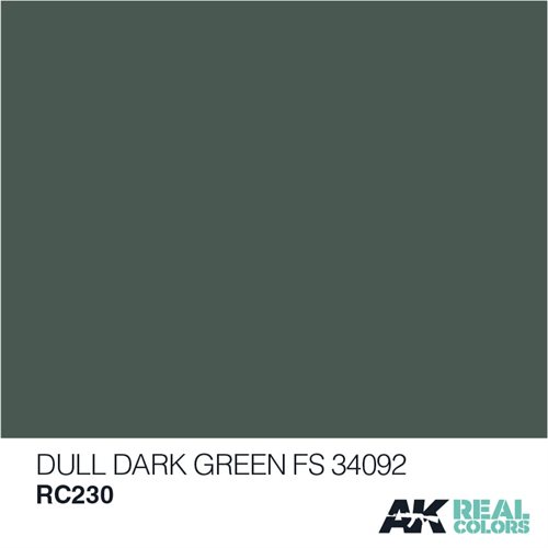 AKRC230 DULL DARK GREEN FS 34092 10ML