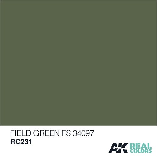 AKRC231 FIELD GREEN FS 34097 10ML