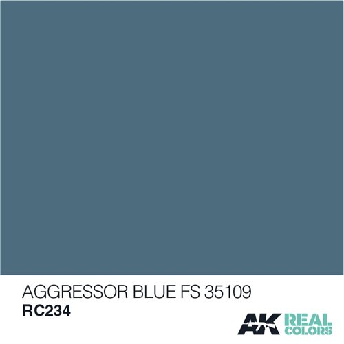 AKRC234 AGGRESSOR BLUE FS 35109 10ML