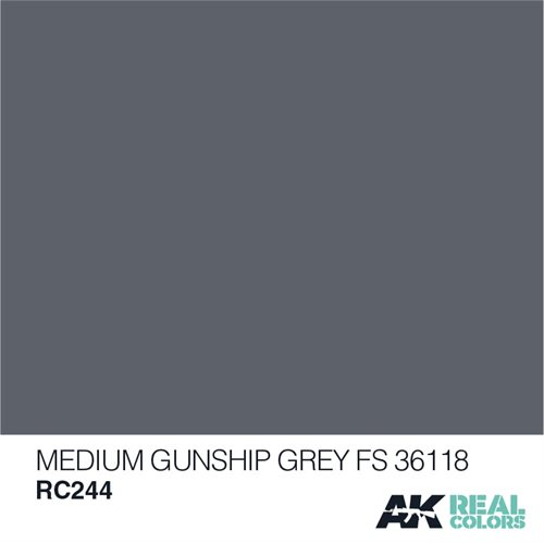 AKRC244 MEDIUM GUNSHIP GREY FS 36118 10ML